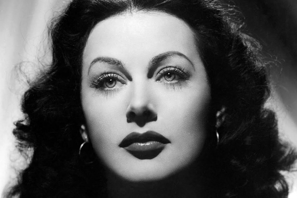 """Any girl can be glamorous. All you have to do is stand still and look stupid."" —Hedy Lamarr"