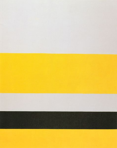 "John McLaughlin, ""#2"", Oil on canvas, 1975, 60 x 48 inches."