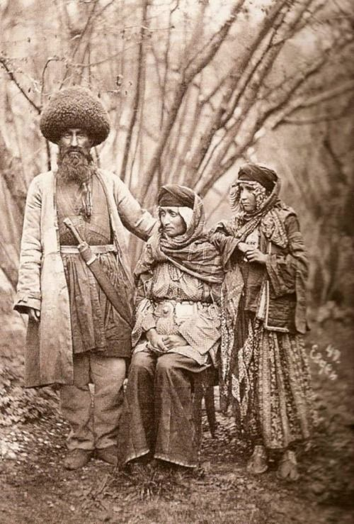 Mountain Jews of Azerbaijan, early 1900s