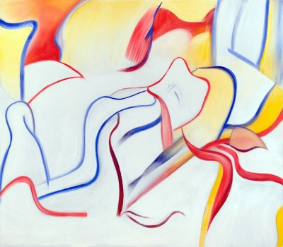 Willem de Kooning, Untitled, 1983, oil on canvas