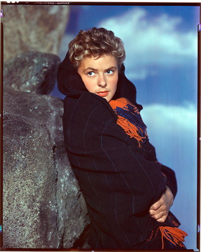 Rare Kodachrome of Ingrid Bergman, 1943
