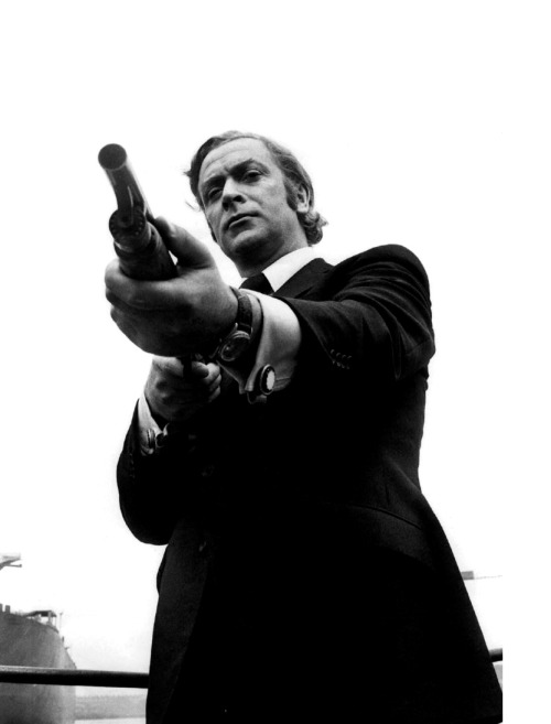 "Michael Caine in Get Carter (1971). ""I was in a club somewhere in the West End just after Get Carter was released and the gangster I'd based Jack Carter on – not that he ever knew it – came up to me and said, 'I saw that Get Carter, Michael.' Uh-oh, I thought, but I kept a dead straight face and I said, 'Did you?' and he went on, 'Biggest load of crap I've ever seen.' 'Really?' I said, looking for the exit. 'What makes you think that?' And he said, 'Michael, you weren't married, you didn't have any kids and you had no responsibilities. You don't understand why we do things. Me, with no special skills, I had to hold on to a wife and kids.' And I thought – no special skills? He'd only killed about five people – not that he'd ever been charged with anything, but everyone knew… and I said, 'Oh blimey, you're right. That was a terrible mistake.' I completely agreed with everything he said. You don't want to argue with someone like that."""