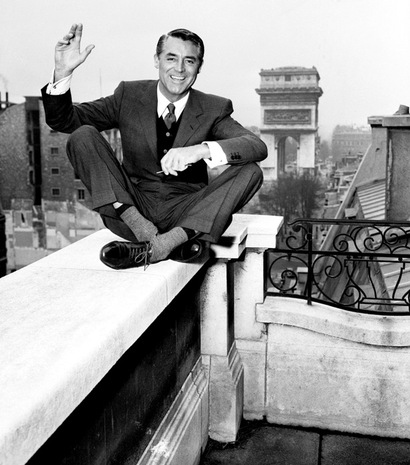 """My formula for living is quite simple. I get up in the morning and I go to bed at night. In between, I occupy myself as best I can."" -Cary Grant"
