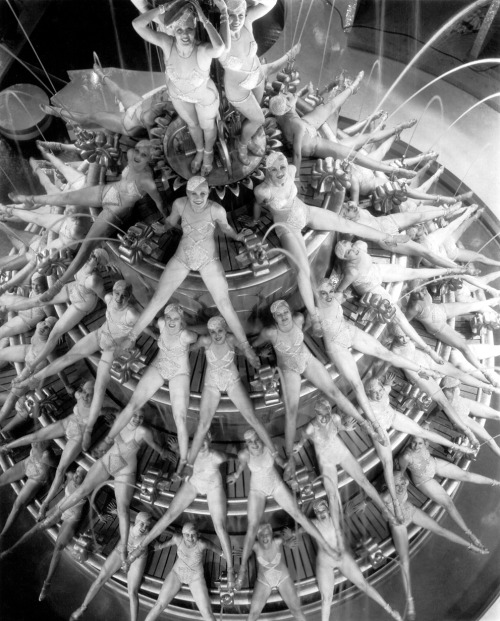 "Footlight Parade's ""By the Waterfall"" sequence (1933) choreographed by Busby Berkeley."