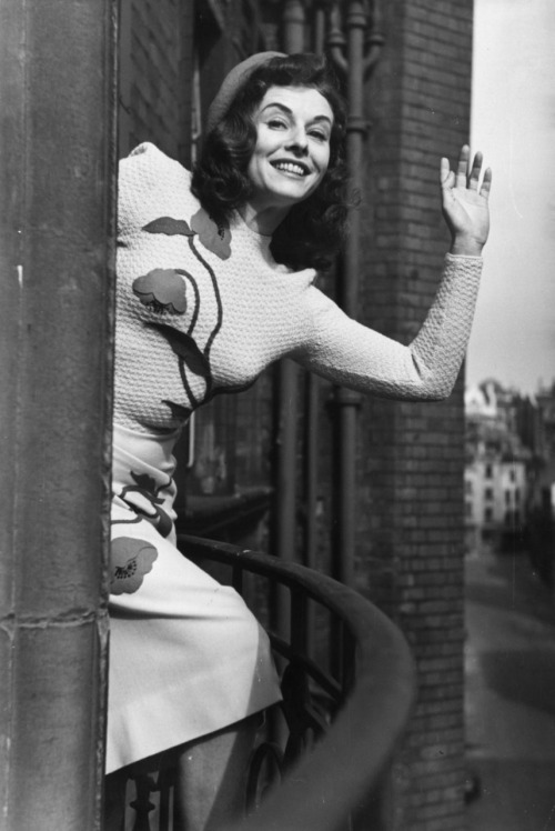 """""""Actors and actresses who say they never go to see their own pictures are talking through their hats. You don't have to be a Freud to know that the most fascinating person in the world - actors or anybody - is yourself."""" —Paulette Goddard"""