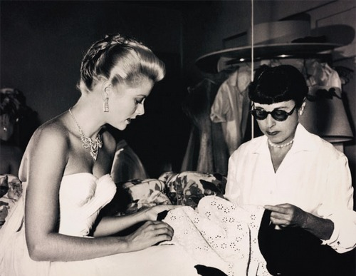 "Costume designer Edith Head, when reporters asked for some juicy anecdotes about Grace Kelly: ""Grace doesn't allow anecdotes to happen to her."""