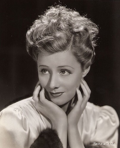 "A wonderful portrait of Irene Dunne, she was a wonderful actress who was as adept in comedy as in drama. A Catholic, she remained married to one man and was never involved in a scandal. Her two best comedies are ""My Favorite Wife"" and ""The Awful Truth."" Both with Cary Grant."