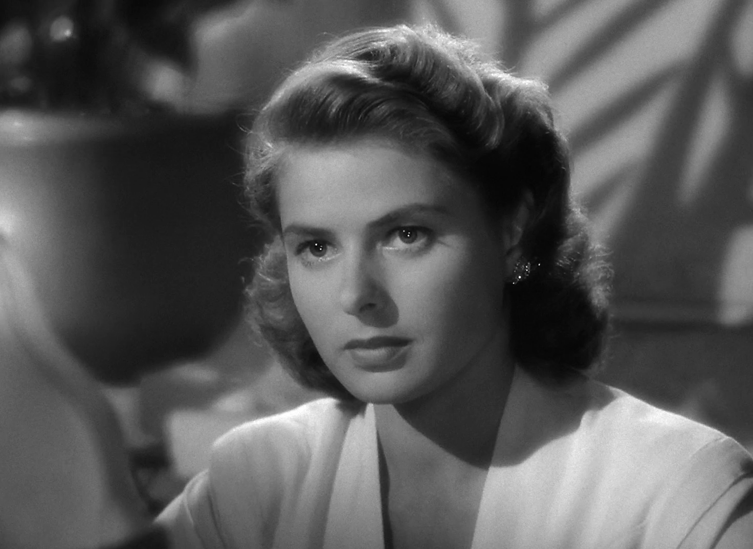 "Your inner life means an awful lot, too. If you're unhappy or bitter or jealous, it shows in your face. And I'm sure it's true, love keeps you pretty.""  —Ingrid Bergman"