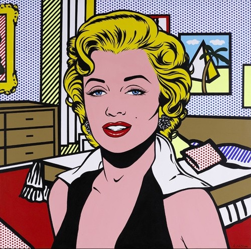 Roy Lichtenstein, Marilyn.