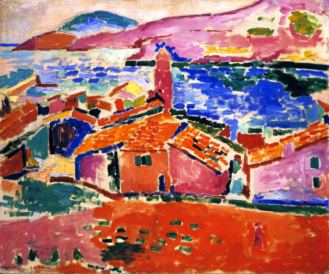 Henri Matisse View of Collioure 1906 Oil on canvas 231/2 x 29""