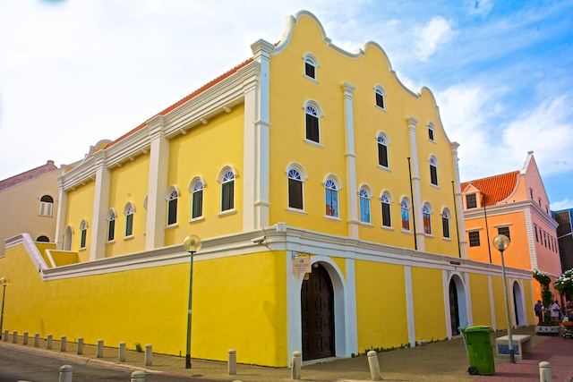 Mikve Israel-Emanuel Synagogue, the oldest existing synagogue in the Western Hemisphere, Curacao, built in 1732.