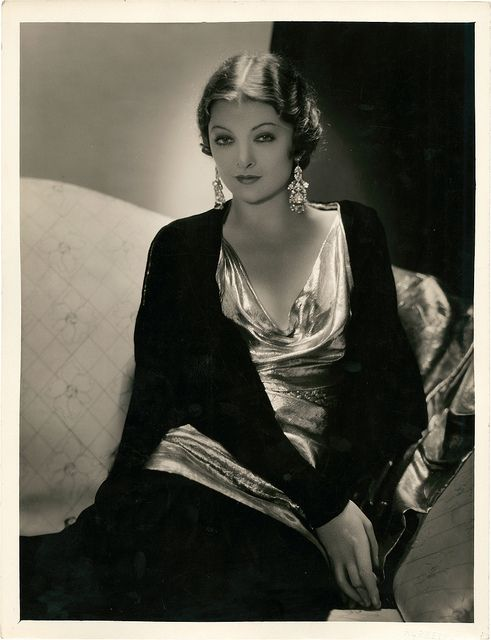 """""""Most of the sex I've seen onscreen looks like an expression of hostility towards sex."""" —Myrna Loy"""