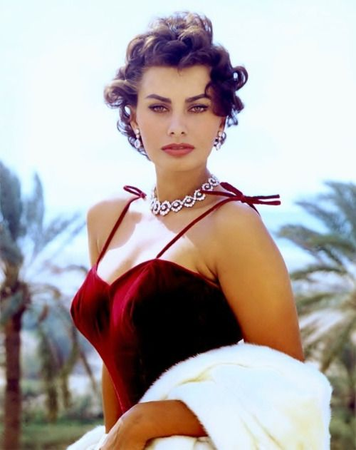 """What you see is because of spaghetti."" —Sophia Loren"