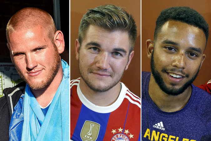 "Spencer Stone, left, Alek Skarlatos and Anthony Sadler prevented what a French official said would have been ""a terrible tragedy."" Credit"