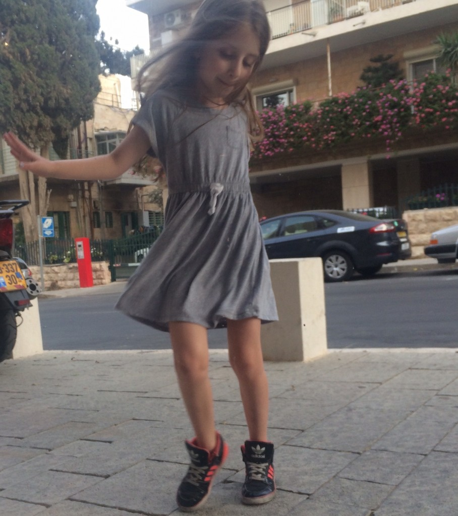 Why is Maayan Ariel (cue Martha and the Vandellas) dancing in the streets?