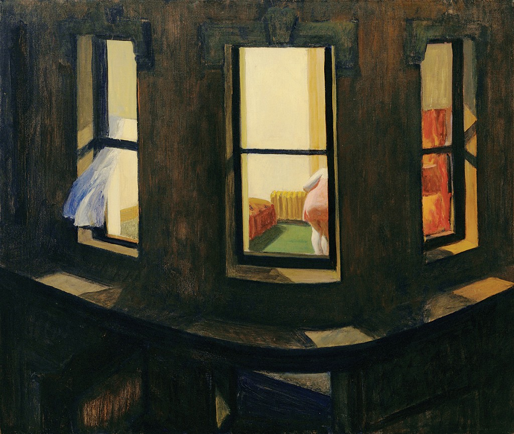 Night Windows by Edward Hopper, 1928