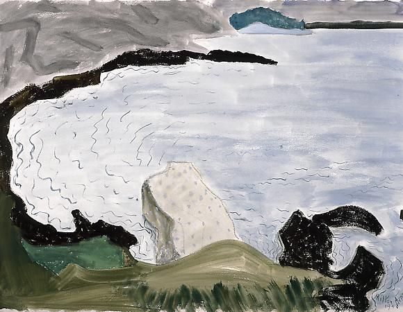 Milton Avery, Quiet Bay, 1948, watercolor on paper