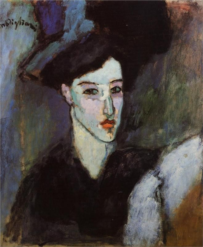 The Jewish Woman, 1908 Amedeo Modigliani.