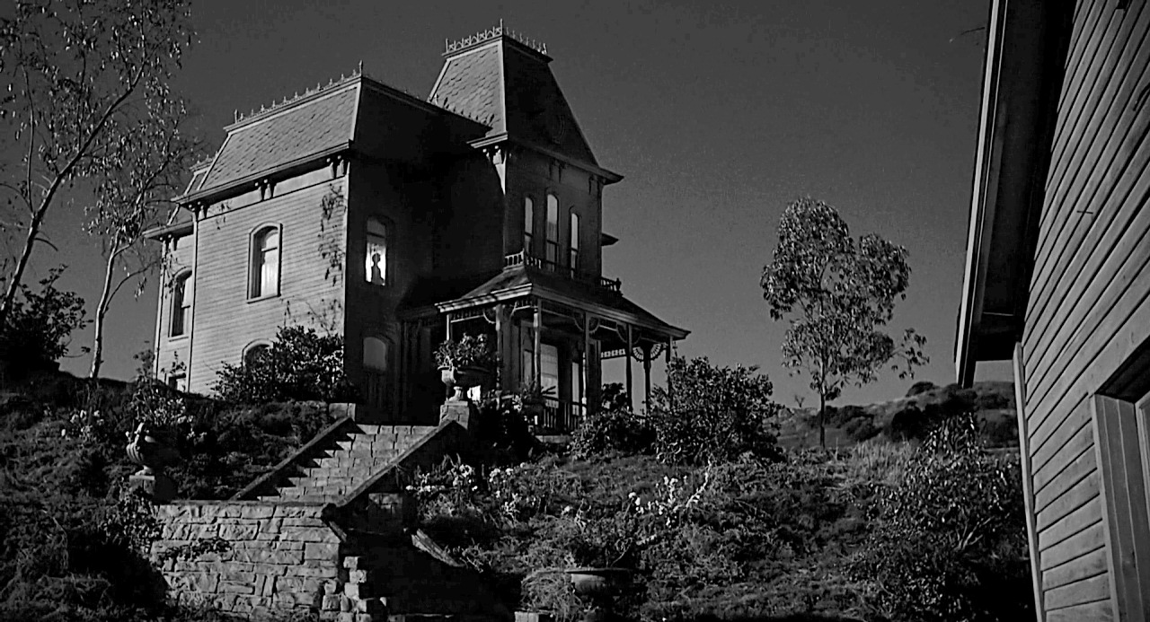 The Bates house was built for Hitchcock's masterpiece Psycho.