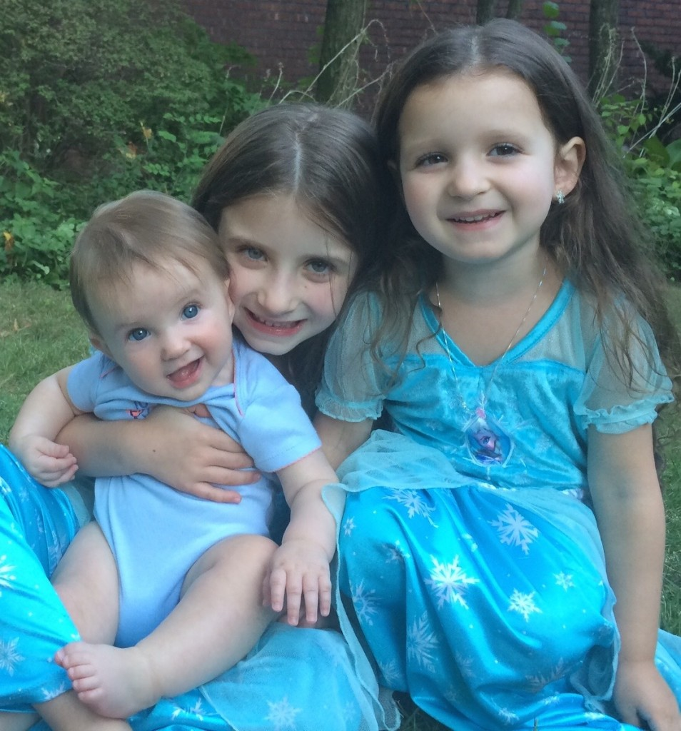 Livia, Maayan, and Lielle wish all our friends and relatives a peaceful Shabbat and a lovely and meaningful Succot.