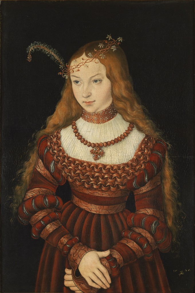 Lucas Cranach the Elder, Sybille of Cleves wife of John Frederick I