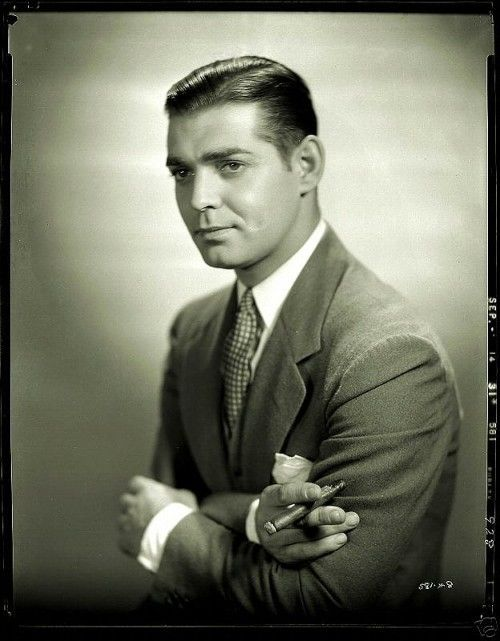 """""""Hell, if I'd jumped on all the dames I'm supposed to have jumped on, I'd have had no time to go fishing."""" —Clark Gable"""