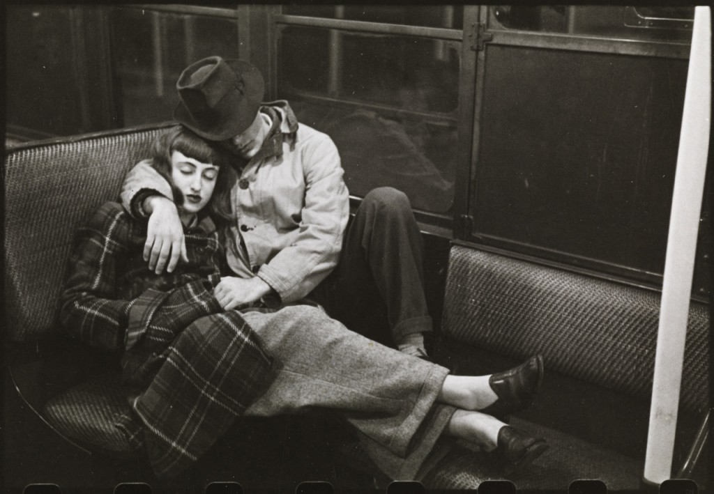 Stanley Kubrick, 1946, Life and Love on the New York City Subway.