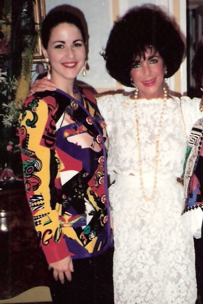 Jorjett and Elizabeth Taylor