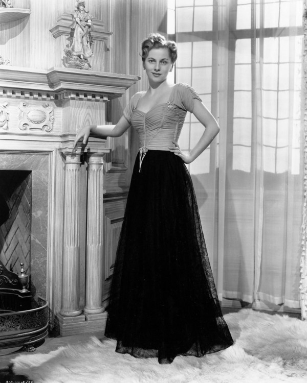 """I can't believe I was ever that thin."" —Joan Fontaine's comment on just having seen herself in Rebecca, fifty years after she had starred with Laurence Olivier in the Hitchcock film."