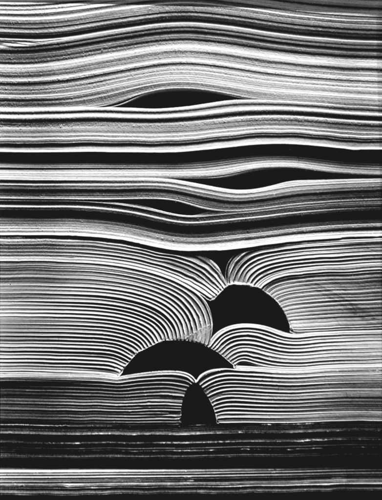 Kenneth Josephson, Untitled, from the series Books, 1988.