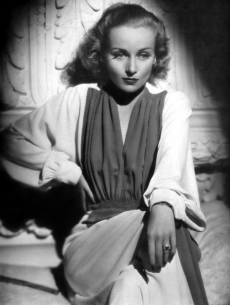 """It is easier to die when the heart is full of gratitude."" —Carole Lombard"