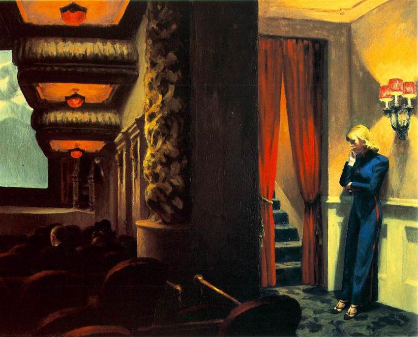 Edward Hopper, New York Movie, 1939.