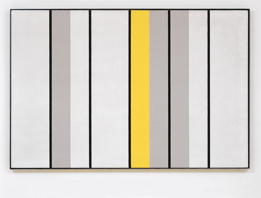 John McLaughlin #1-1962, 1962 Oil on canvas 83 x 123,5 cm