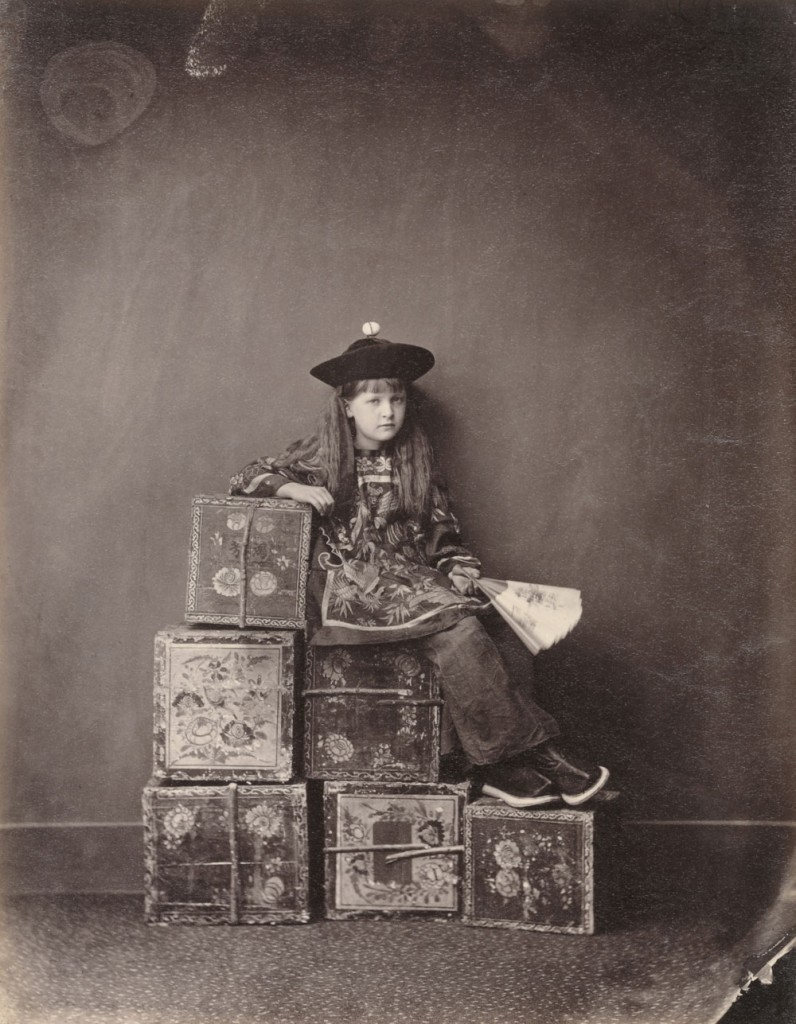 "Lewis Carroll, Alexandra ""Xie"" Kitchin as Chinese ""Tea-Merchant"" (on Duty) 1873"