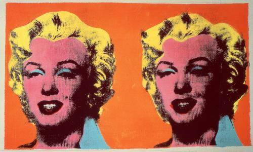 Andy Warhol, Two Marilyns, 1962.