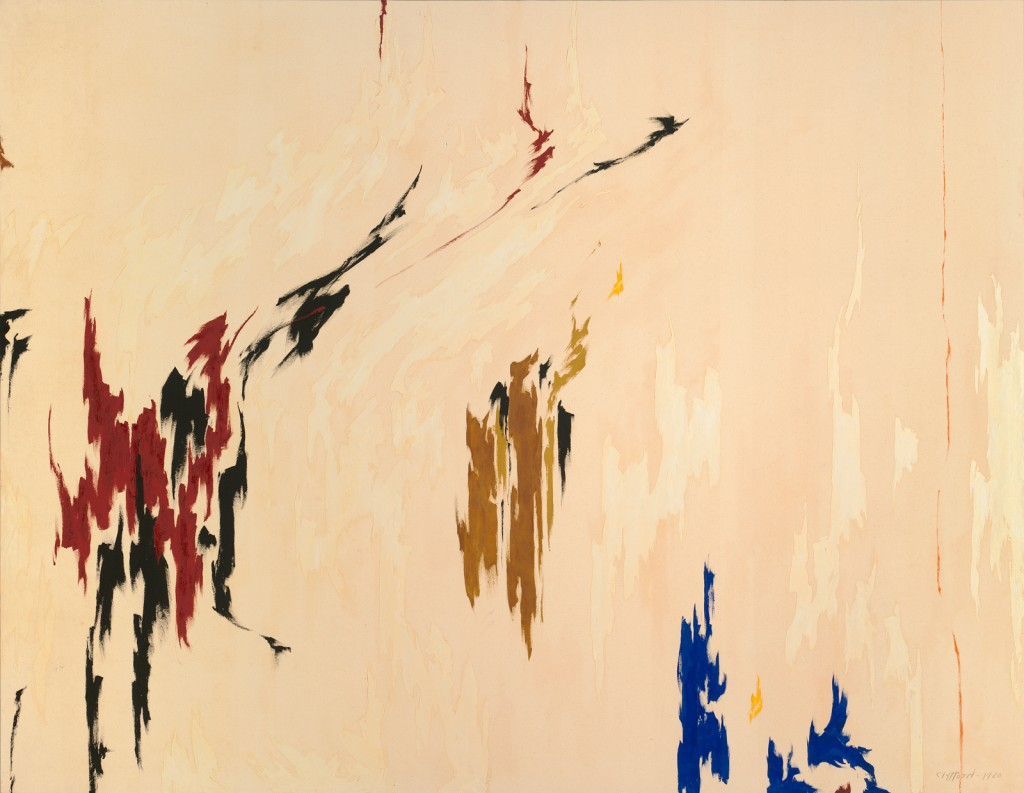 Clyfford Still PH-960, 1960 Oil on canvas 112 x 144 in