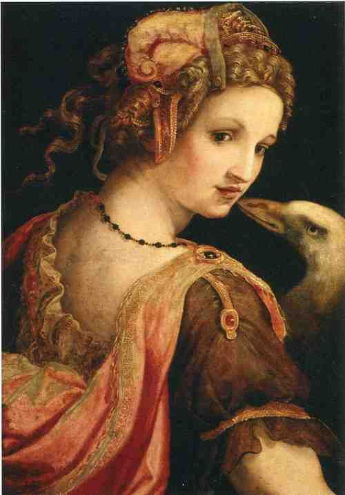 Ghirlandaio Domenico Leda and the Swan, 1460