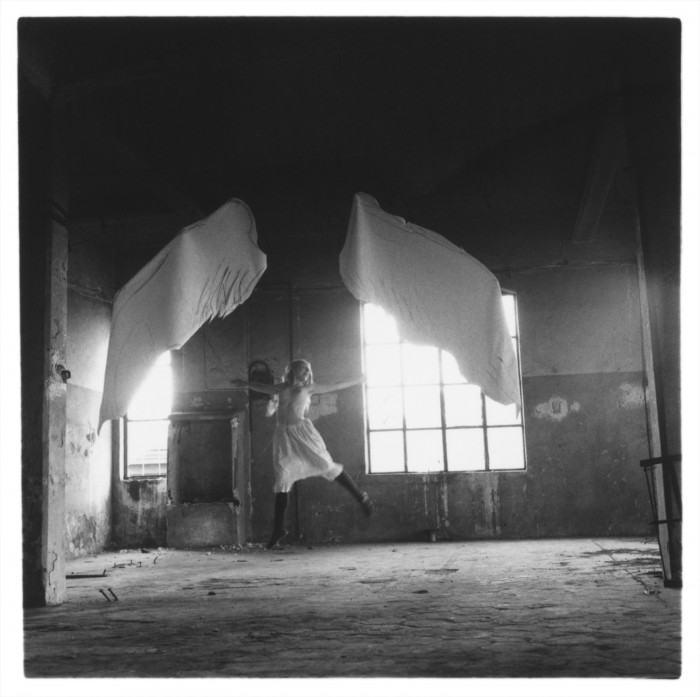 Francesca Woodman, Untitled, From the Angel Series.
