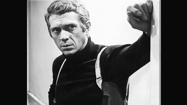 """I'm not sure that acting is something for a grown man to be doing."" —Steve McQueen"