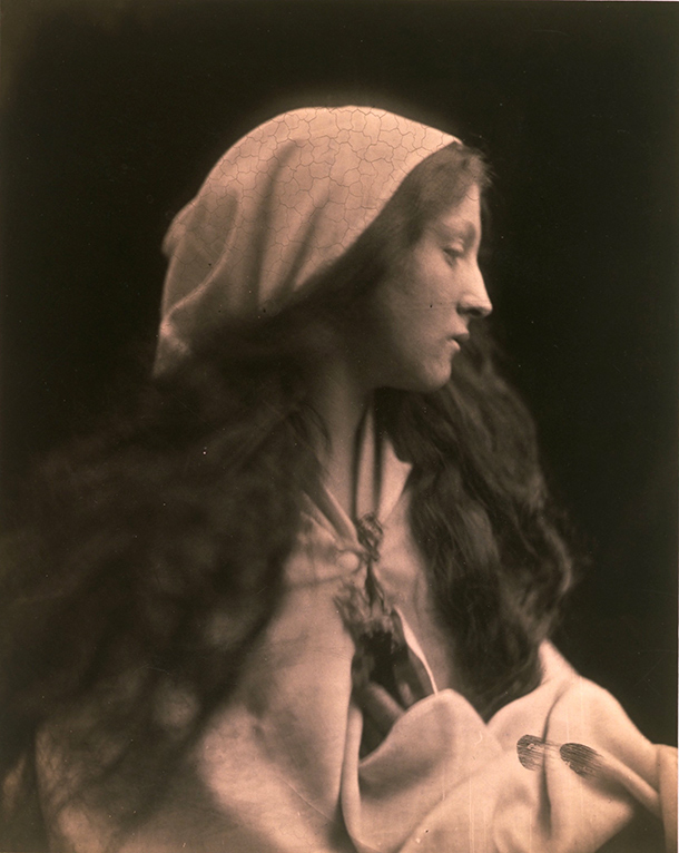 Julia Margaret Cameron, The Dream, 1869, albumen print from wet collodion.