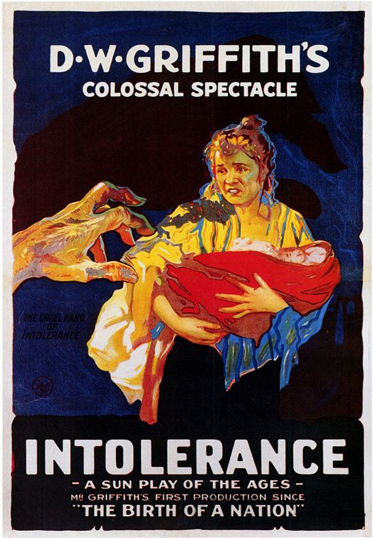 Poster for D.W. Griffish's epic, Intolerance, 1916