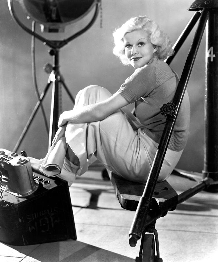 """There is a God, even in Hollywood."" —Jean Harlow"