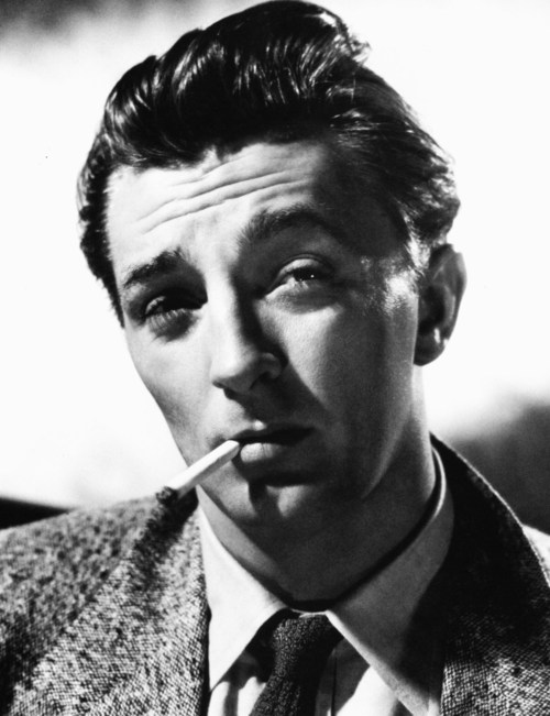 """I gave up being serious about making pictures around the time I made a film with Greer Garson and she took a hundred and twenty-five takes to say no."" —Robert Mitchum"