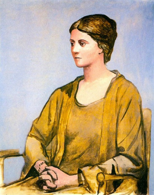 Pablo Picasso, Portrait of Olga, 1921