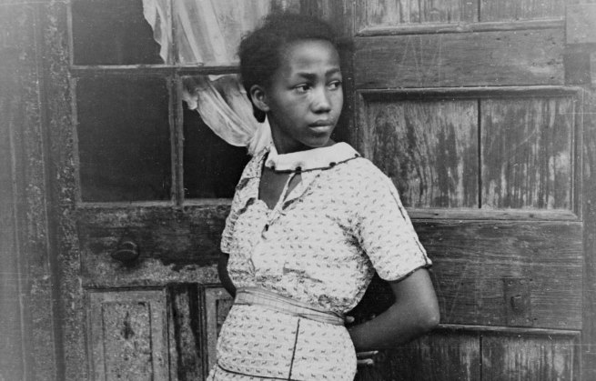 Walker Evans Girl In French Quarter New Orleans, February – March 1935