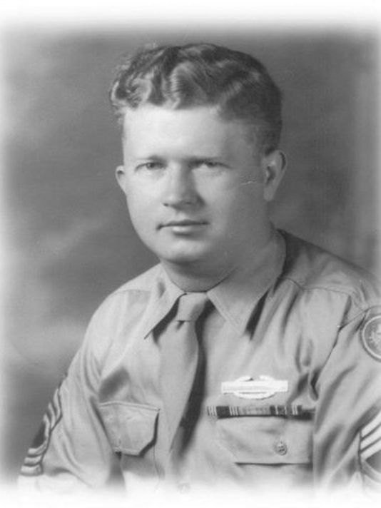 Master Sgt. Roddie Edmonds, (Photo: Courtesy of Yad Vashem via AP)