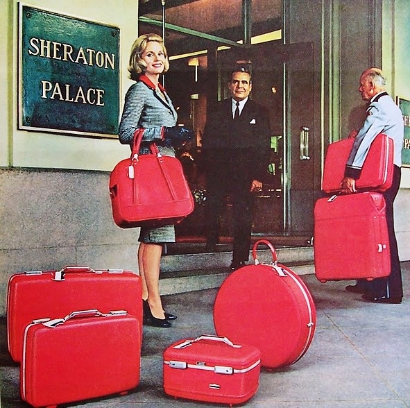 Eva Marie Saint ad for American Tourister Luggage, 1965.