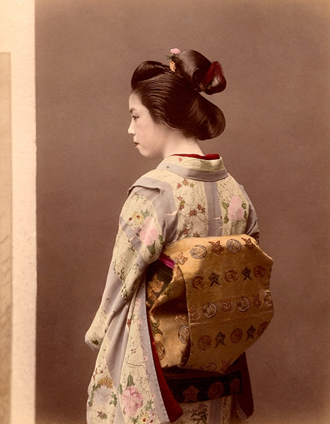 Anonymous photographer, Geisha, 1880