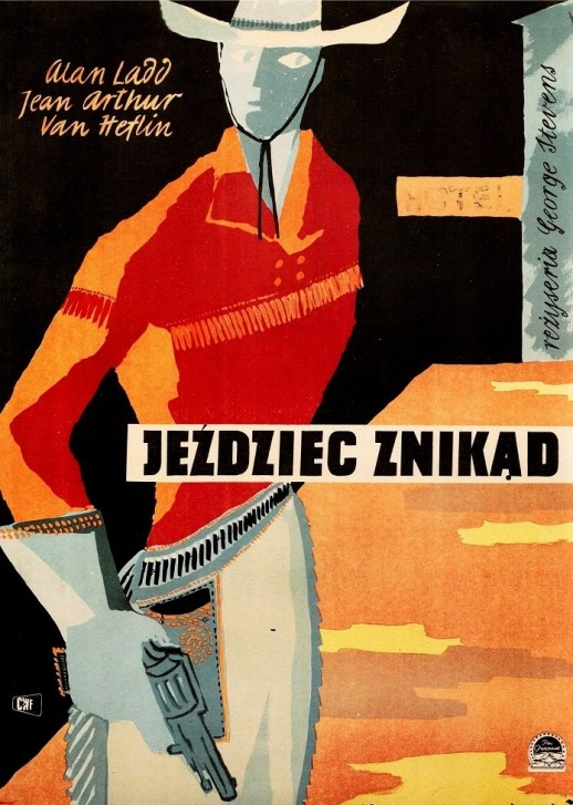 Polish poster for Shane, 1959.