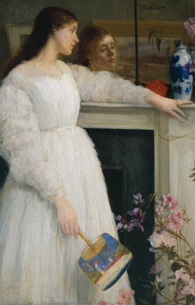 James Abbott McNeill Whistler (1834-1903) Symphony in White, No. 2: The Little White Girl,1864